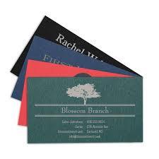 Tarjetas De Presentacion A Color Papel Negro Rojo Azul Verde
