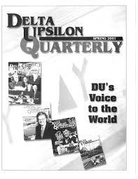 quarterlyspring2001 by Delta Upsilon - issuu