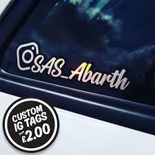 Custom Car Stickers Home