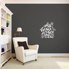 Shop My Home Is Where You Are Small Wall Decal Overstock 11487855