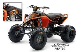 Ed Hardy Ktm Quad Graphic Sticker Decals Fits 450 525 Sx Exc Atv S