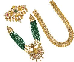 gold jewellery necklaces harams