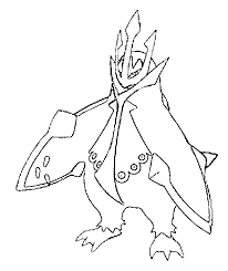 Empoleon Coloring Pages At Getdrawings Free Download