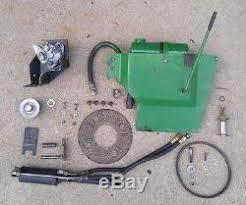 john deere hydraulic lift kit option