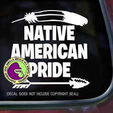 Native American Pride Vinyl Decal Sticker Gorilla Decals
