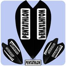 Dart Flights - Genuine RSL Pentathlon Extra Strong 100 Micron Dart ...