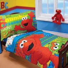 toddler bedding set sesame street elmo