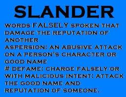 SLANDER | Linda4444 Disinformation Agent