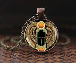 pendant scarab jewelry ancient egypt