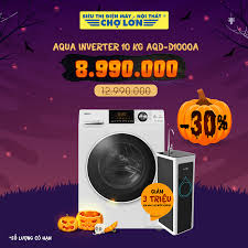 ▪️ Máy giặt AQUA Inverter 10.0 Kg... - Siêu Thị Điện Máy - Nội Thất Chợ Lớn