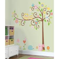 Woodland Animals Tree Nursery Wall Decals Fun Rooms For Kids