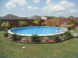 garden design with round pool design