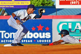 Mets prospect L.J. Mazzilli accountable for mistakes, now reveling in  success - New Haven Register