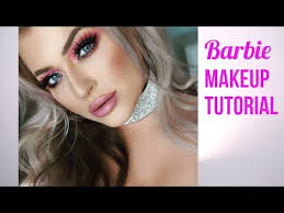 barbie transformation makeup tutorial