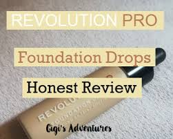 revolution pro foundation drops f1