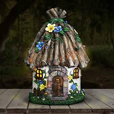 exhart twigs roof fairy house outdoor