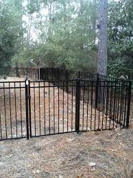 220 Ft Of 5 Ft Black Aluminum Fence B A Fencing Company