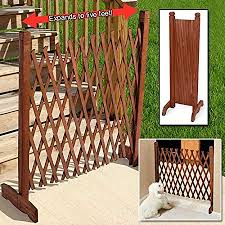 com expanding wooden fence