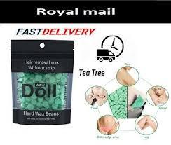 hard wax beans tea tree hair removal