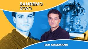 Leo Gassmann ha vinto Sanremo giovani 2020 nella categoria