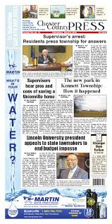 Chester County Press 03-09-2016 Edition by Ad Pro Inc. - issuu