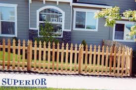 Portland Wood Fence Installation