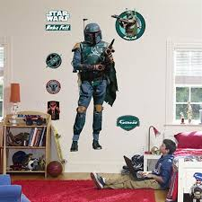 Fathead Boba Fett Live Action Wall Graphic
