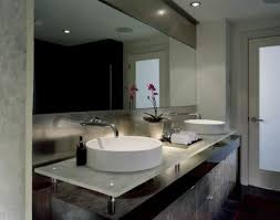 5 bathrooms for two with large mirrors