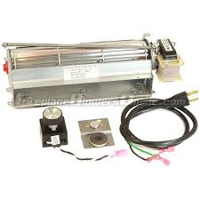 gfk4 fireplace blower kit for