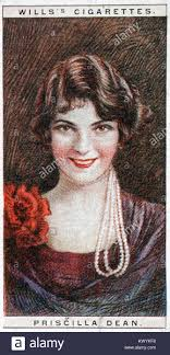 Priscilla Dean was an American actress from the silent movie era Stock  Photo - Alamy