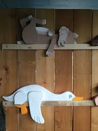 The kitty & duck both have gotten makeovers!!   Bricolages en bois,  Bricolage et loisirs créatifs, Deco bois
