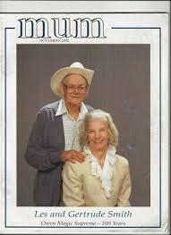 Les & Gertrude Smith Mum Magazine issue 100 years Owen Magic Supreme | eBay