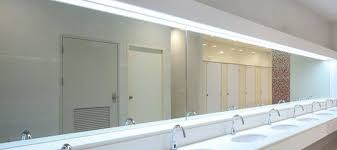 mirror installation commercial