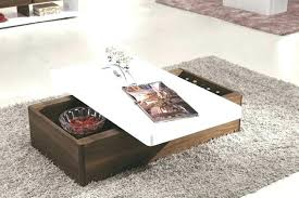 glass top latest wooden center table