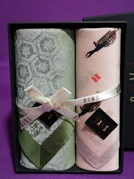 korea brand daks handkerchief gift set