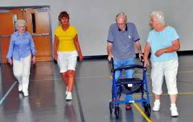 Walking indoors provides alternative exercise - Senior Life - September  2017 - Florida