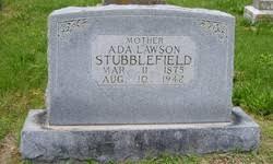 Eva Ada Lawson Stubblefield (1875-1942) - Find A Grave Memorial