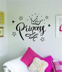 Princess V3 Big Quote Wall Decal Sticker Decor Vinyl Art Bedroom Teen Boop Decals
