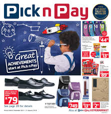 pick n pay back to 27 dec