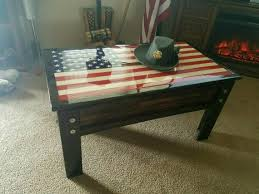 concealed weapon coffee table