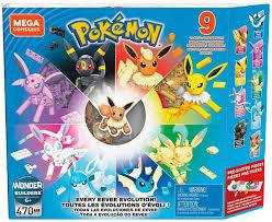 Pokemon Mega Construx Every Eevee Evolution Set GFV85 Mattel - ToyWiz