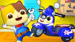 Thợ máy Zack và xe máy Scoopy | Mortorbike Scoopy song