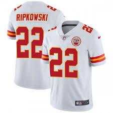 Men's Nike Kansas City Chiefs Aaron Ripkowski White Vapor ...