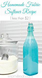 homemade fabric softener recipe on the