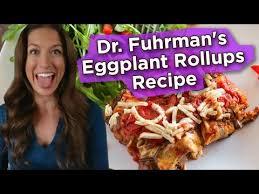 dr fuhrman s eggplant rollups recipe