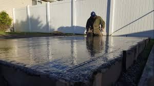 easy diy concrete slab garden