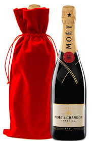 moet chandon imperial with red velvet