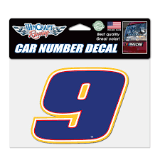 Chase Elliott Wincraft 4 75 X 7 Colored Perfect Cut Decal