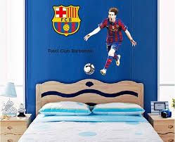 Messi Barca Wall Sticker Boys Room Decoration Football Wall Art Decal For Sale In Dublin 1 Dublin From Dorphi