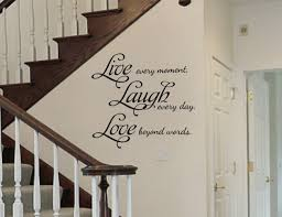 Live Laugh Love Removable Vinyl Wall Art Quotes Decal Sticker 22 Tall Word Factory Design